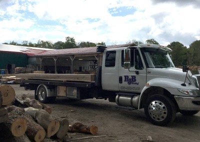 RJB Towing Flatbed Tow Truck