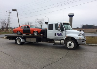 Towing Classic Cars