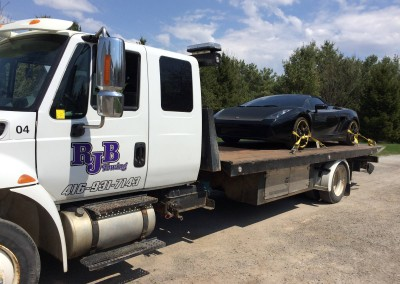 Towing High End Sports Cars