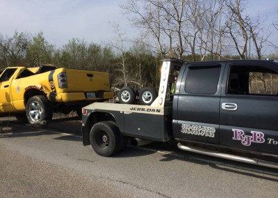 Towing Accident Vehicles